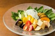 藤沢のお野菜で作るサラダ